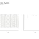 Knitted Card  カード